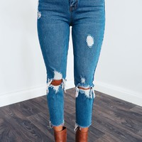 Go The Distance Jeans: Denim