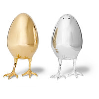Asprey - Sterling Silver Salt and Pepper Shakers