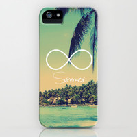 Forever Summer Vintage iPhone Case by RexLambo
