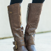 The Hallie Boot, Brown