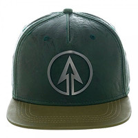 The Green Arrow TV Show Based Style Adult Adjustable Snapback Hat