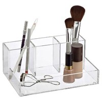 The Container Store > 4-Section Acrylic Cosmetic Organizer