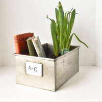 Stainless Steel Industrial Box, Metal Storage Container