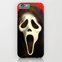 Scream - for iphone iPhone & iPod Case by Simone Morana Cyla