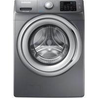 Samsung 4.2 cu. ft. Front Load Washer with Steam in White, ENERGY STAR WF42H5200AW at The Home Depot - Mobile