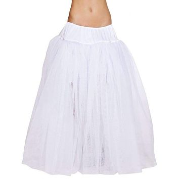 Roma Costume 4554 Full Length White Petticoat