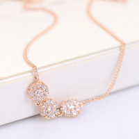 Jewelry Cute Sexy Gift Stylish Shiny Ladies New Arrival Apple Elegant Diamonds Floral Anklet [6049497537]
