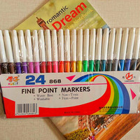 Yuan poison safe affordable color brushes color pen watercolor pens color markers free shipping