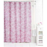 Browning Pink Camo Buckmark Shower Curtain