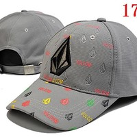VOLCOM embroidery Strap Cap Adjustable Golf Snapback Baseball Hat