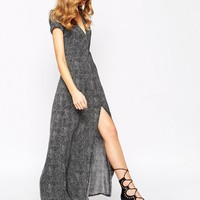Goldie Jazzing Maxi Dress In Polka Dot Print