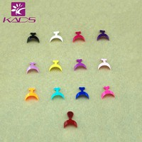 HOTSALE 20pcs/PACK French Edge Tip,French False Acrylic Nail Tips Edge 2PCS*10size.13 different color Available for selection