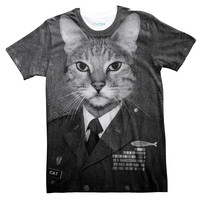 Cat on Duty Tee