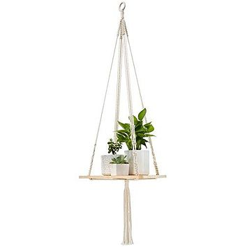Mkono Shelf Hanging Planter