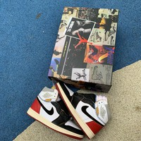 Union x Air Jordan1 Retro AJ1 Black Toe BV1300-106