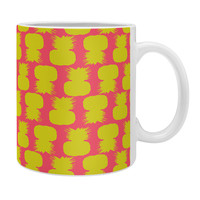 Allyson Johnson Neon Pineapples Coffee Mug