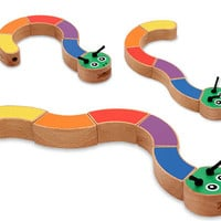 Melissa & Doug Caterpillar Grasping Baby Toy