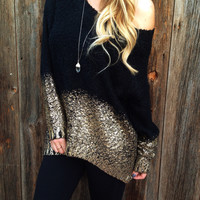 Dipped In Gold Sweater