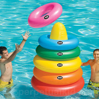 GIANT RING TOSS POOL FLOAT