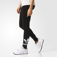 """Adidas"" Women Clover Letter Print Casual Tights Stretch Long Pants Sweatpants"