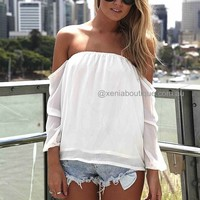 OFF THE SHOULDER TOP , DRESSES, TOPS, BOTTOMS, JACKETS & JUMPERS, ACCESSORIES, 50% OFF SALE, PRE ORDER, NEW ARRIVALS, PLAYSUIT, GIFT VOUCHER,,White Australia, Queensland, Brisbane