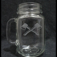 Kung Fu Hustle Axe Gang - Available on Mason Jar or Pint