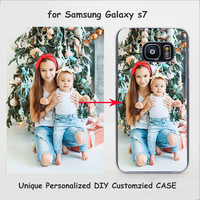 Unique Personalized Customized DIY Printing Transparent Clear Cover Case for Samsung Galaxy s6 s7 edge s3 s4 s5 mini note 5 4 3