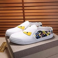 Boys & Men Fendi Fashion Casual Flats Shoes