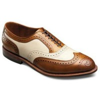 MENS BROWN AND WHITE SHOES, MEN BROGUE LEATHER SHOES, MEN FORMAL SHOES