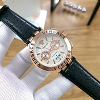 Versace Classic mechanical watch diamond men and women waterproof quartz watch