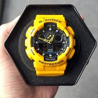G-Shock GA100A-9A Bumblebee Yellow