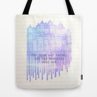 Paper Towns Tote Bag by Anthony Londer