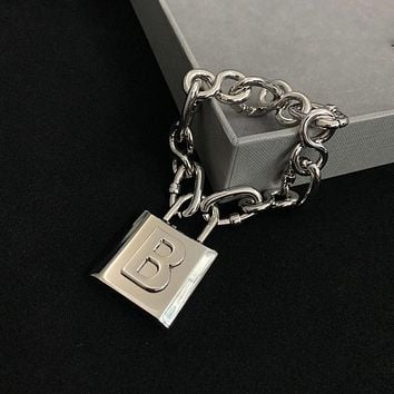 Balenciaga Woman Fashion Accessories Fine Jewelry Ring & Chain Necklace & Earrings