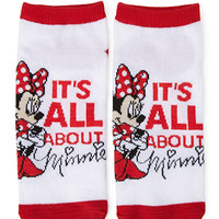 It's All About Minnie Ankle Socks