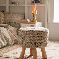 Cable Knit Stool - Urban Outfitters