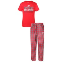 NHL Men's Detriot Redwings Medalists Pajama Set