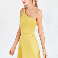 Silence + Noise Sunbeam One-Shoulder Mini Dress - Urban Outfitters