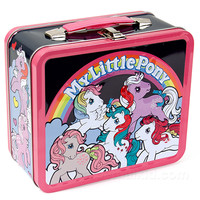 CLASSIC MY LITTLE PONY LUNCH BOX