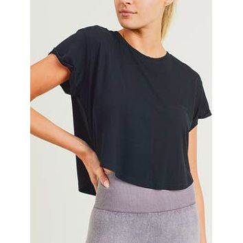 Press Pause Top | Black