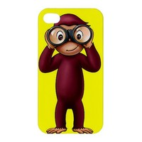Curious George iphone 4/4s hardshell case