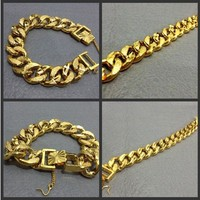 New Arrival Gift Stylish Hot Sale Shiny Great Deal Awesome Club Hip-hop Accessory Bracelet [6542739395]
