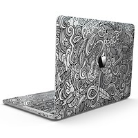 Hippie Dippie Doodles - MacBook Pro with Touch Bar Skin Kit