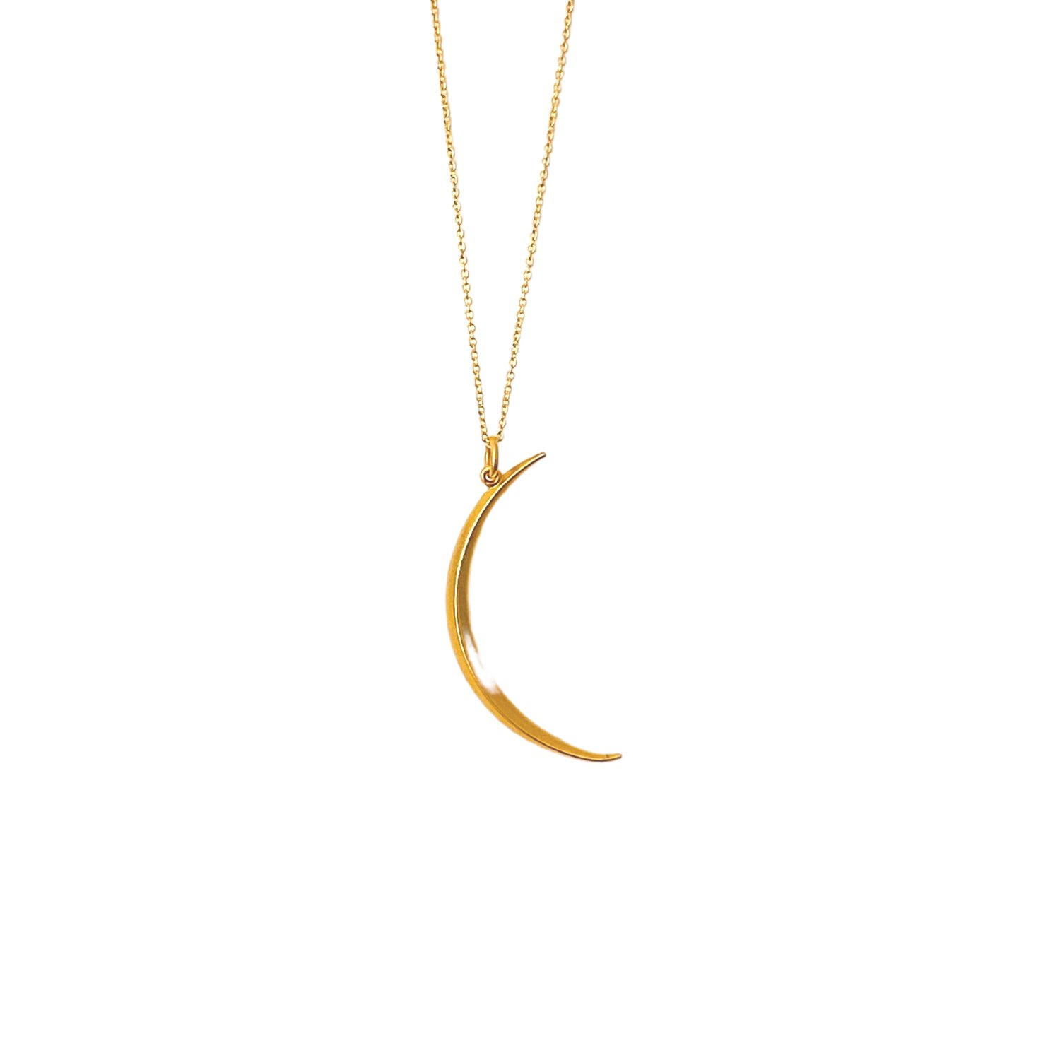 Image of Moon Pendant Necklace