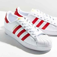 adidas Originals Red Superstar Sneaker