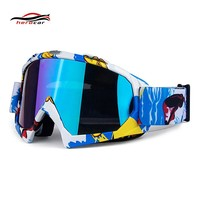 New Motocross Glasses Moto Helmet Glasses Biker Ski Motorbike MX Dirt Bike DH Downhill Eyewear Windproof Motorcycle Goggles
