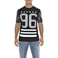 Reflective Stars and Stripes Tee