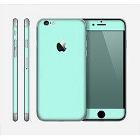 The Subtle Solid Green Skin for the Apple iPhone 6