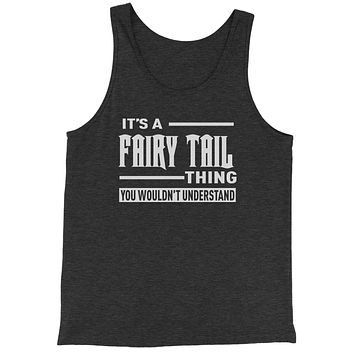 It's A Fairy Tail Thing  Jersey Tank Top for Men