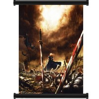 """Fate Stay Night / Fate Zero Anime Fabric Wall Scroll Poster (16"""" x 23"""") Inches"""