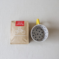 Polka Dot Mug + Tandem Coffee Box